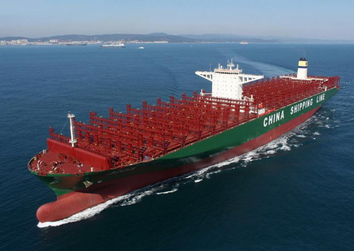 Top Six Largest Box Ships – Wells Cargo